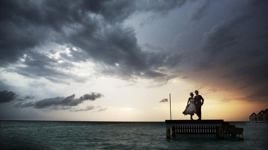 Maldives Destination Weddings by Film Wedding Photographer Brian Ho