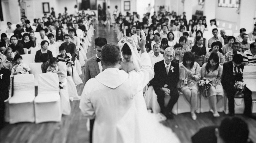 Film Wedding Photography by Film Wedding Photographer from thegaleria / Kodak TRI-X 400